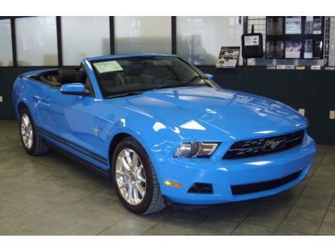 2010 Grabber Blue Mustang For Sale Grabber Blue Ford Mustang v6