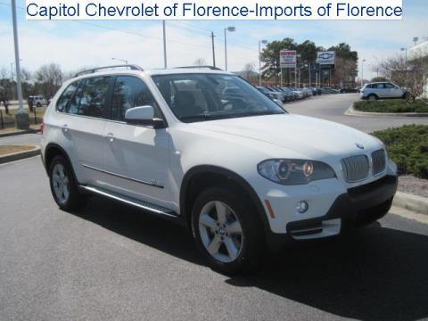 Bmw X5 2010 White. Alpine White 2010 BMW X5