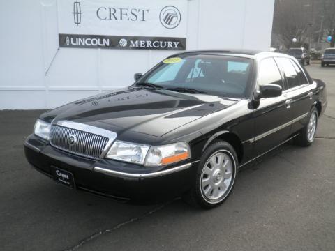 used 2003 mercury grand marquis ls for sale stock 7616u dealer car ad. Black Bedroom Furniture Sets. Home Design Ideas