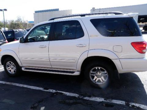 used 2006 toyota sequoia limited 4wd for sale stock t15289a dealer car ad. Black Bedroom Furniture Sets. Home Design Ideas