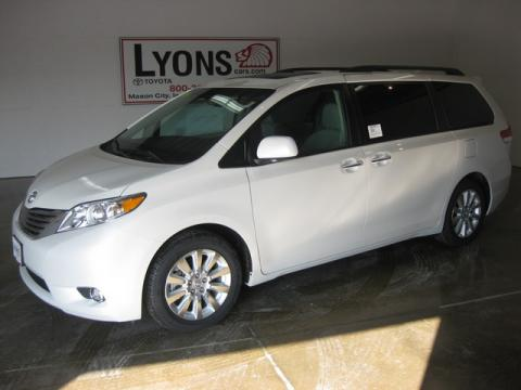 New 2011 Toyota Sienna Limited for Sale - Stock #J268