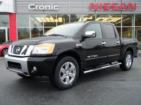new 2010 nissan titan le heavy metal chrome edition crew cab for sale stock n1197. Black Bedroom Furniture Sets. Home Design Ideas