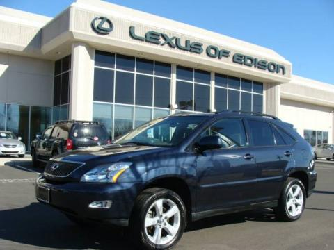 Neptune Blue Mica 2005 Lexus RX 330 AWD with Ivory interior Neptune Blue