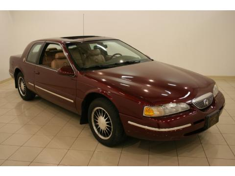 1997 Mercury Cougar Xr7 Coupe. Dark Toreador Red Metallic 1997 Mercury Cougar XR7 with Prairie Tan interior Dark Toreador Red Metallic Mercury Cougar XR7. Click to enlarge.