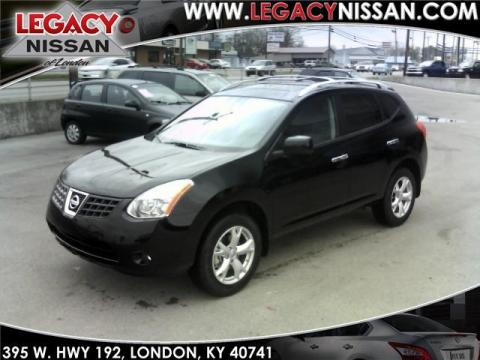 Nissan Rogue Interior. Wicked Black 2010 Nissan Rogue