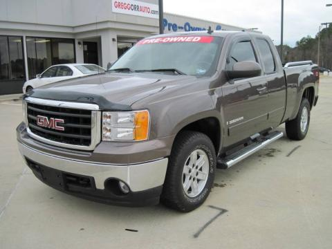 used 2008 gmc sierra 1500 slt extended cab 4x4 for sale. Black Bedroom Furniture Sets. Home Design Ideas