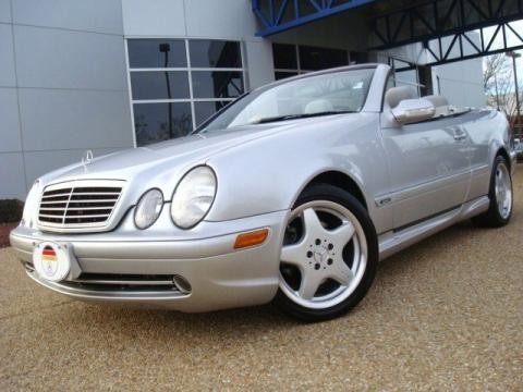 Used 2002 mercedes benz clk 320 cabriolet for sale stock Tysinger motor company
