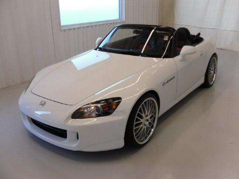 Grand Prix White Honda S2000 Roadster Click To Enlarge