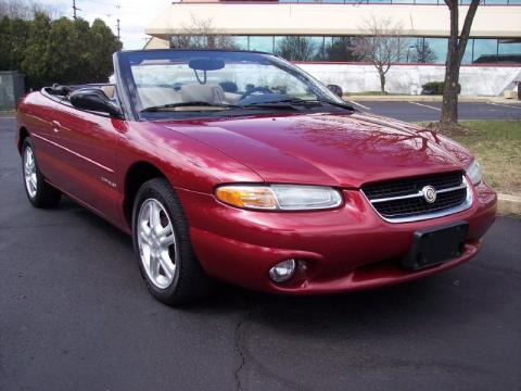 used 1997 chrysler sebring jxi convertible for sale. Black Bedroom Furniture Sets. Home Design Ideas