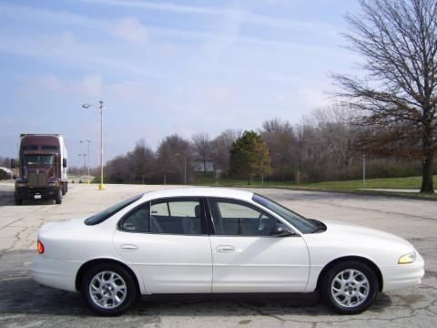 Ivory White 2002 Oldsmobile Intrigue GX with Pewter interior Ivory White