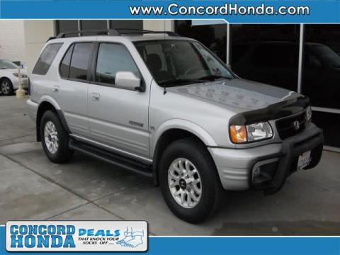 used 2001 honda passport ex 4x4 for sale stock. Black Bedroom Furniture Sets. Home Design Ideas