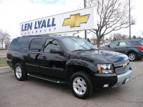 used 2009 chevrolet suburban z71 4x4 for sale stock. Black Bedroom Furniture Sets. Home Design Ideas
