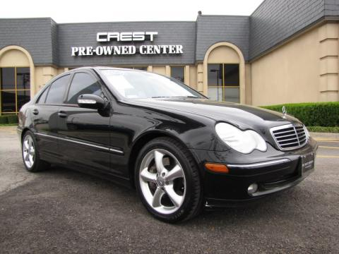 Used 2004 mercedes benz c 320 sedan for sale stock for Mercedes benz dealership plano texas