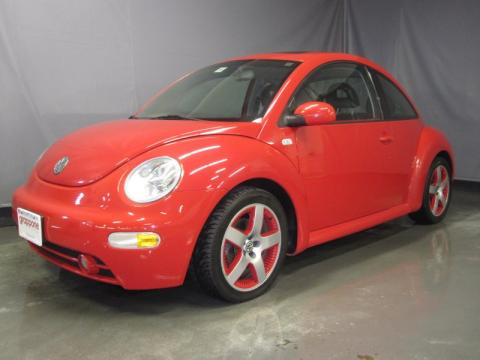 used 2001 volkswagen new beetle sport edition coupe for sale stock hn0521b. Black Bedroom Furniture Sets. Home Design Ideas