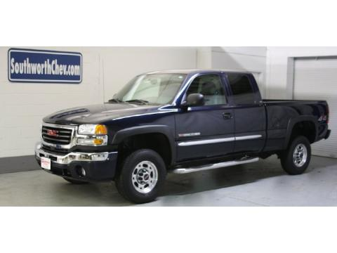 used 2007 gmc sierra 2500hd classic sle extended cab 4x4. Black Bedroom Furniture Sets. Home Design Ideas