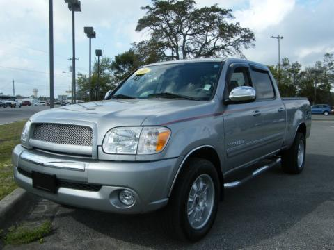 Silver Sky Metallic Toyota Tundra Darrell Waltrip Double Cab.  Click to enlarge.