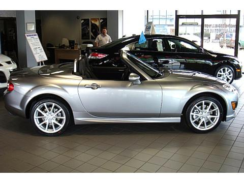 new 2010 mazda mx 5 miata grand touring hard top roadster. Black Bedroom Furniture Sets. Home Design Ideas