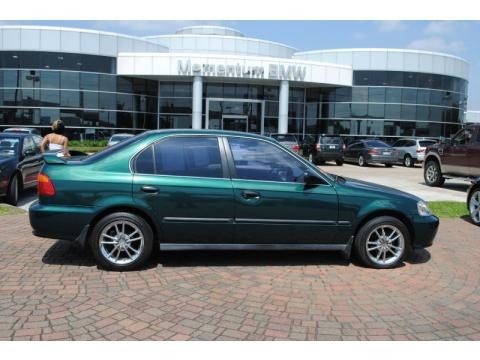 Houston Honda Dealers >> Used 1999 Honda Civic LX Sedan for Sale - Stock #TXL000653   DealerRevs.com - Dealer Car Ad ...