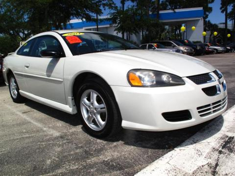 2003 Dodge Stratus Coupe. Satin White Pearl 2003 Dodge