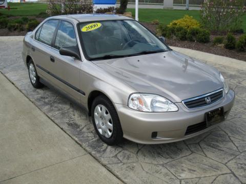 Used 2000 honda civic lx sedan for sale stock h14690a for Used 2000 honda civic