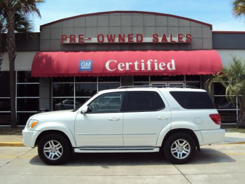 Used 2006 Toyota Sequoia Limited For Sale Stock 10b111a Dealer Car Ad