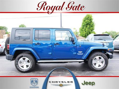 Used 2010 Jeep Wrangler Unlimited Sahara 4x4 For Sale