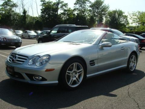 Used 2007 mercedes benz sl 550 roadster for sale stock for Mercedes benz prestige paramus nj