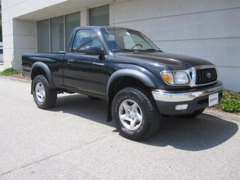 used 2001 toyota tacoma regular cab 4x4 for sale stock. Black Bedroom Furniture Sets. Home Design Ideas