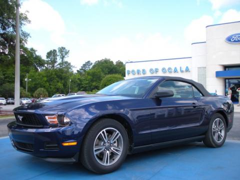2011 Ford Mustang Convertible info