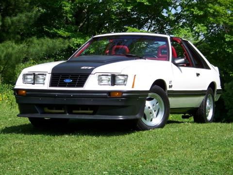 used 1983 ford mustang gt coupe for sale stock 0213 dealer car ad 31073587. Black Bedroom Furniture Sets. Home Design Ideas