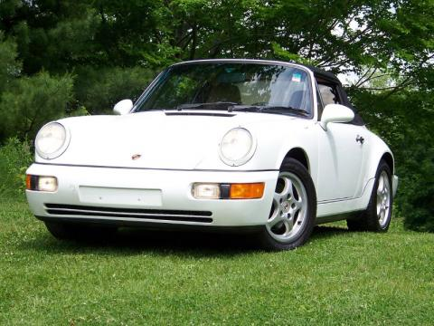 used 1992 porsche 911 carrera 4 cabriolet for sale stock 0228 dealer car. Black Bedroom Furniture Sets. Home Design Ideas