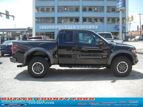 Tuxedo Black 2010 Ford F150 SVT Raptor SuperCab 4x4 with Raptor Black/Orange