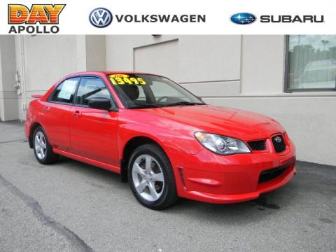 Used 2006 Subaru Impreza 2 5i Sedan For Sale Stock P1559