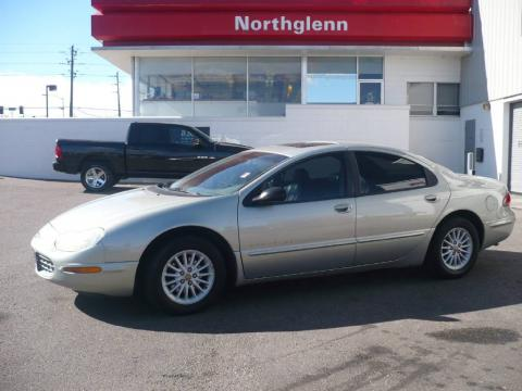 Bright Platinum Metallic 1999 Chrysler Concorde LXi with Agate Black