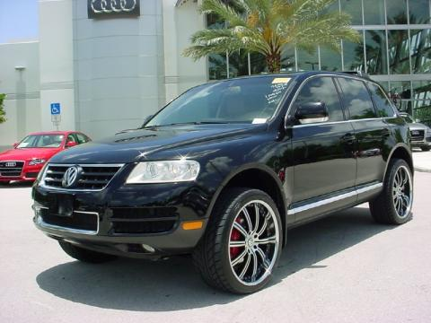 used 2004 volkswagen touareg v8 for sale stock d006018a dealer car ad. Black Bedroom Furniture Sets. Home Design Ideas