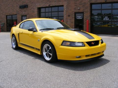 used 2004 ford mustang mach 1 coupe for sale stock j6181 dealer car ad. Black Bedroom Furniture Sets. Home Design Ideas