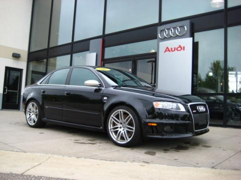 used 2007 audi rs4 4 2 quattro sedan for sale stock p1668 dealer car ad. Black Bedroom Furniture Sets. Home Design Ideas
