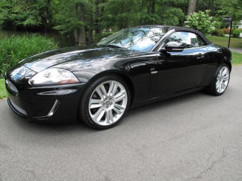 used 2010 jaguar xk xkr convertible for sale stock 12745x dealer car ad. Black Bedroom Furniture Sets. Home Design Ideas