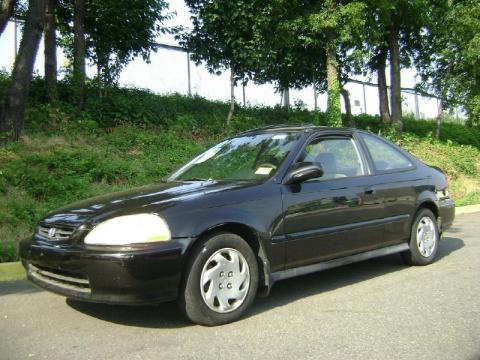 used 1996 honda civic ex coupe for sale stock 3322 dealer car ad 31392021. Black Bedroom Furniture Sets. Home Design Ideas