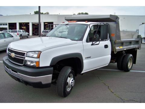 used 2007 chevrolet silverado 3500hd regular cab chassis 4x4 dump truck for sale stock 2528c. Black Bedroom Furniture Sets. Home Design Ideas
