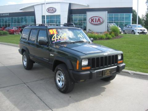 used 1998 jeep cherokee sport 4x4 for sale stock y10028a. Cars Review. Best American Auto & Cars Review
