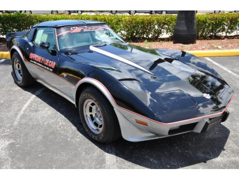 used 1978 chevrolet corvette indianapolis 500 pace car for sale stock 904619. Black Bedroom Furniture Sets. Home Design Ideas