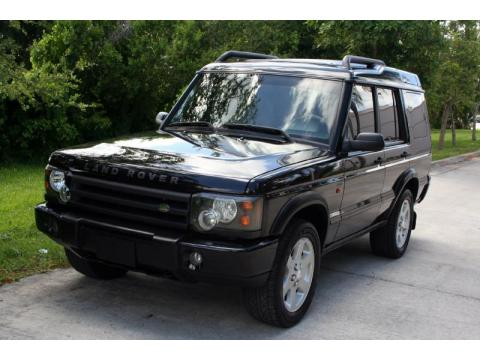 Java Black Land Rover Discovery SE7.  Click to enlarge.