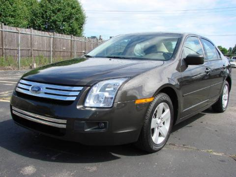 Charcoal Beige Metallic 2006 Ford Fusion SE with Camel interior Charcoal