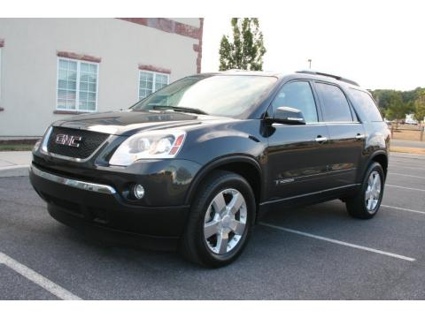 Carbon Metallic GMC Acadia SLT.  Click to enlarge.