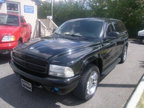 Dodge Durango 2003 Black. Black 2003 Dodge Durango R/T