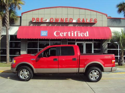 Used 2005 Ford F150 Lariat Supercrew 4x4 For Sale Stock 2100817a Dealer