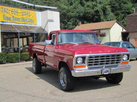 used 1978 ford f150 custom 4x4 for sale stock 1373627576 dealer car ad. Black Bedroom Furniture Sets. Home Design Ideas