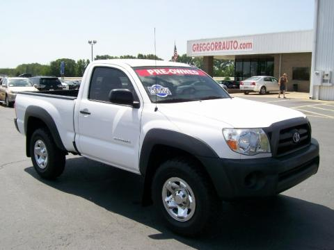 Toyota Dealers In Arkansas >> Used 2007 Toyota Tacoma Regular Cab 4x4 for Sale - Stock ...