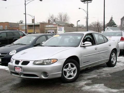 Galaxy Silver Metallic Pontiac Grand Prix SE Sedan.  Click to enlarge.